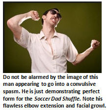 Soccer Dad Shuffle - Dancing Guy