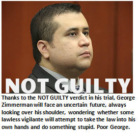Zimmerman - Not Guilty