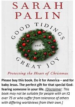 Sarah Palin Christmas book