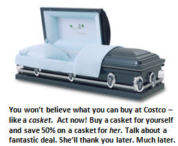 Costco - casket