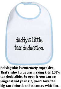 Tax deductions I'd like to see