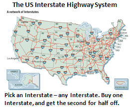 debt problem - interstate highways