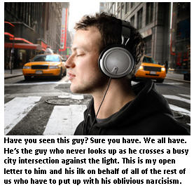 letter to guy crossing street - man