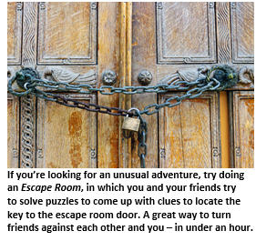 Escape Room - locked door
