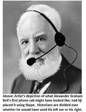 Alexander Graham Bell - Skype headset