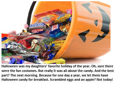 Halloween - bucket of candy