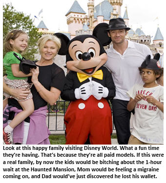 disney world - family