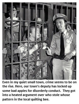 Small town crime - Mayberry