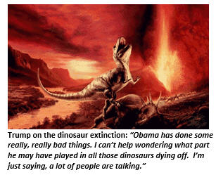Trump - Dinosaurs
