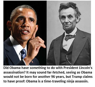 Trump and Lincoln