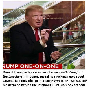 Trump interview - one on one