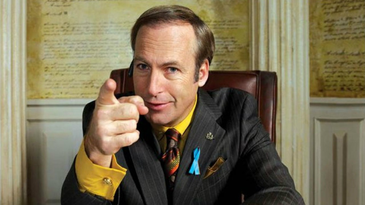"You're probably asking yourself, ""Hey, isn't that a photo of the attorney in the TV show, Breaking Bad and Better Call Saul?"" to which I say, ""What's your point?"""