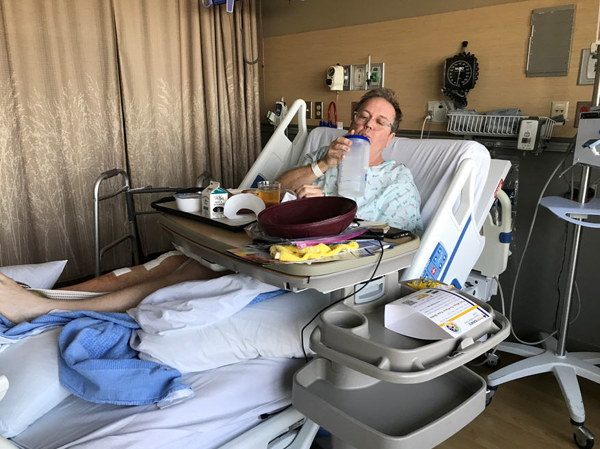 My Heroic Recovery from Knee Replacement Surgery
