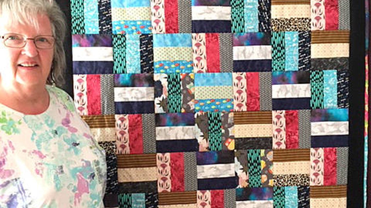 Newsmax' Top Story for January 20, 2021: Mrs. Gladys McCloskey of Brattleboro, VT is the grand prize winner in the Wyndham County Quilting Fair. She wins for the third time in five years. Way to go, Gladys.