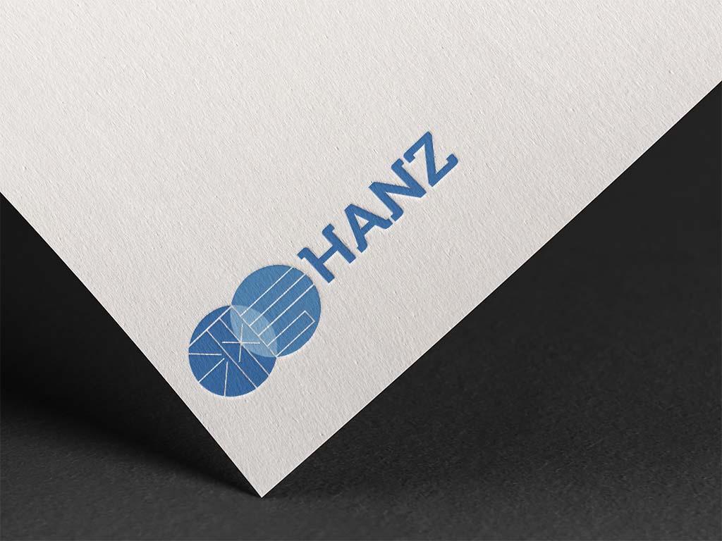 Logo design for hanz hr company Singapore freelance designer