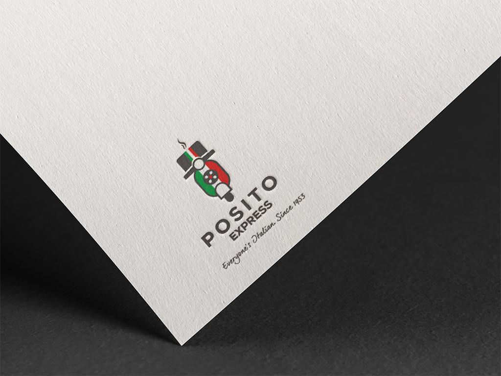 Logo design for Posito Singapore Freelance Designer