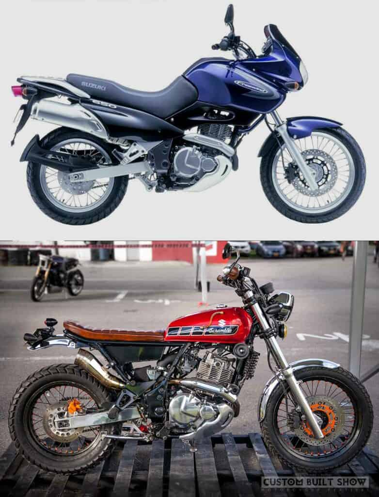 Suzuki Freewind 650 de Samurai Vintage Before After