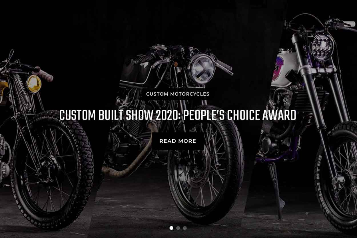 favorita del publico 2020 custom built show bike bound