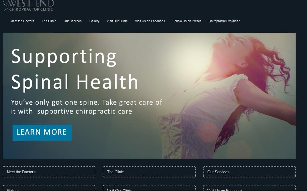 Chiropractic Clinic Websites