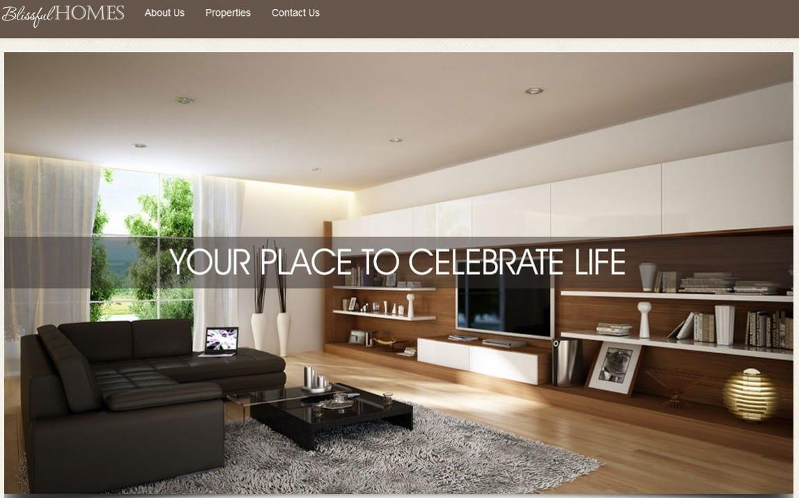 Real Estate Websites Sample
