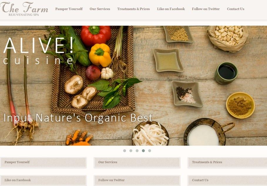 Rejuvenation Spa Website