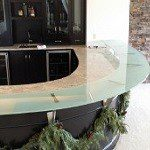 custom glass top