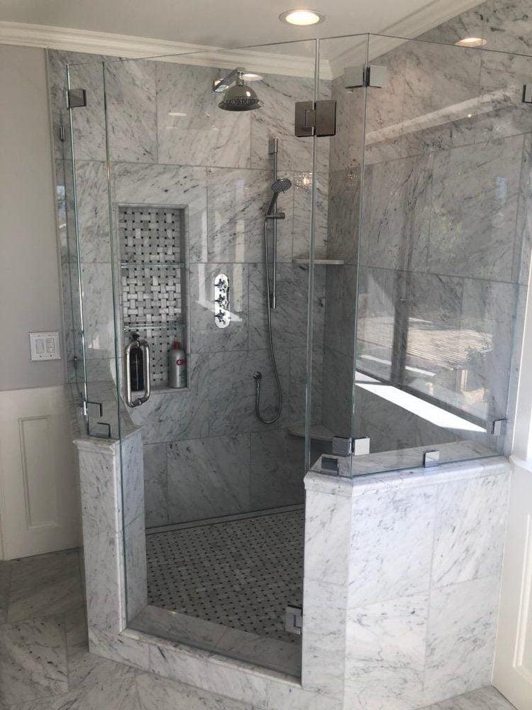 shower doors Nustar Glass & Mirror