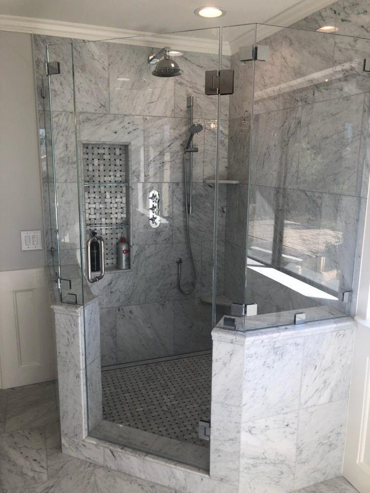 shower doors Nustar Glass & Mirror