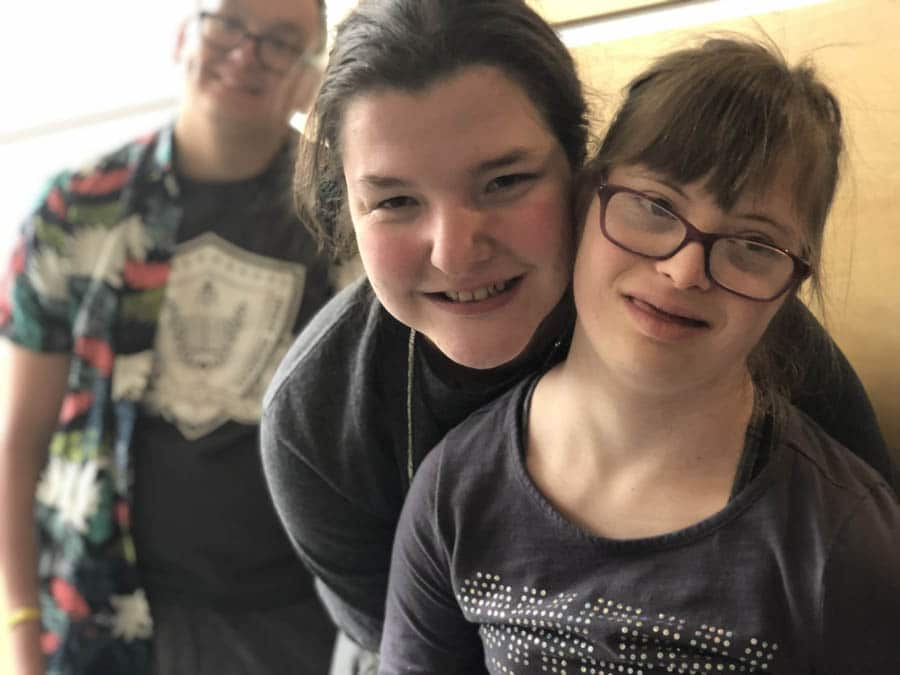 friends with adults with disabilities