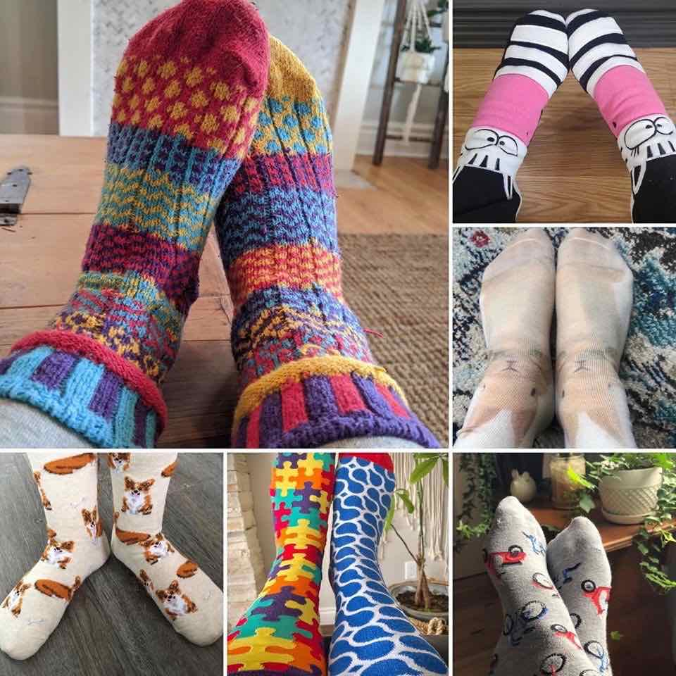 rock your socks adults with developmental disabilities