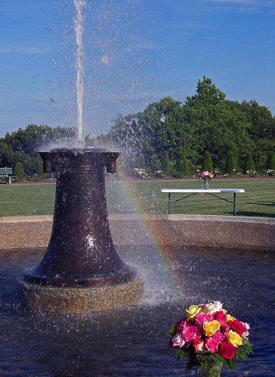 Fountain And Rainbow 2