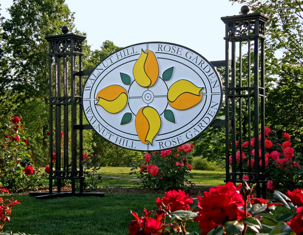 Walnut Hill Rose Garden