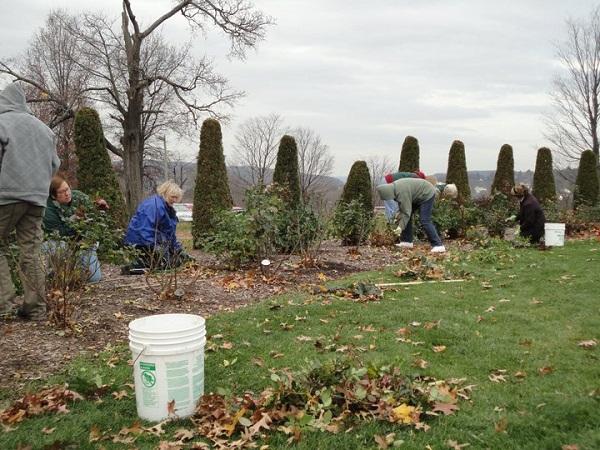 Winterizing A Garden Workshop 2010 – 4