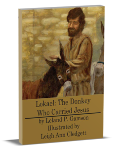 3D book cover for Lokaek the Donkey Who Carried Jesus