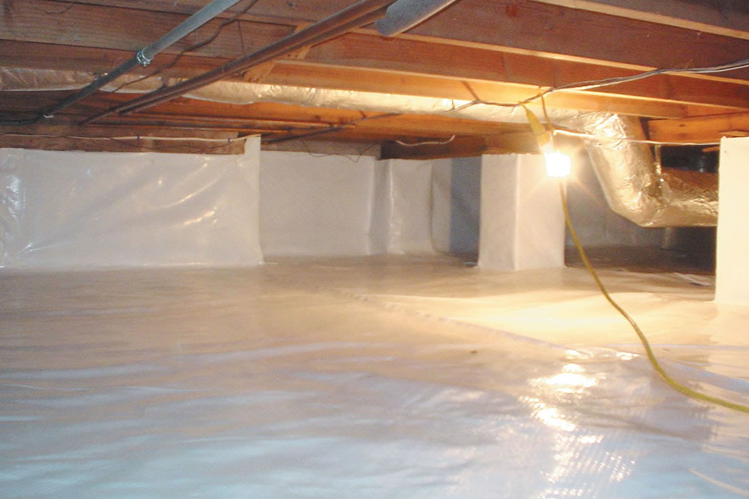 crawl space encapsulation in idaho falls