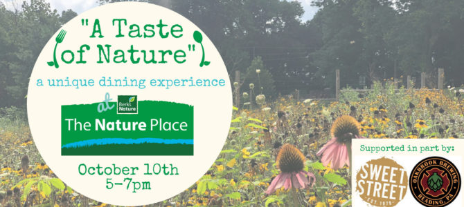 Oct. 10: Dine with us at The Nature Place!