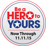 #BeAHeroToYours Badge