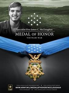 Medal of Honor James McCloughan Army Vietnam