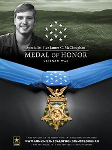 Medal of Honor Vietnam Medic Jim McCloughan