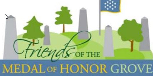Medal of Honor Grove and Author Joe Campolo, Jr.