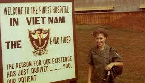 Edie Meeks in Vietnam