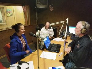 Kate Bob and Dale in Studio Anniversary 2018