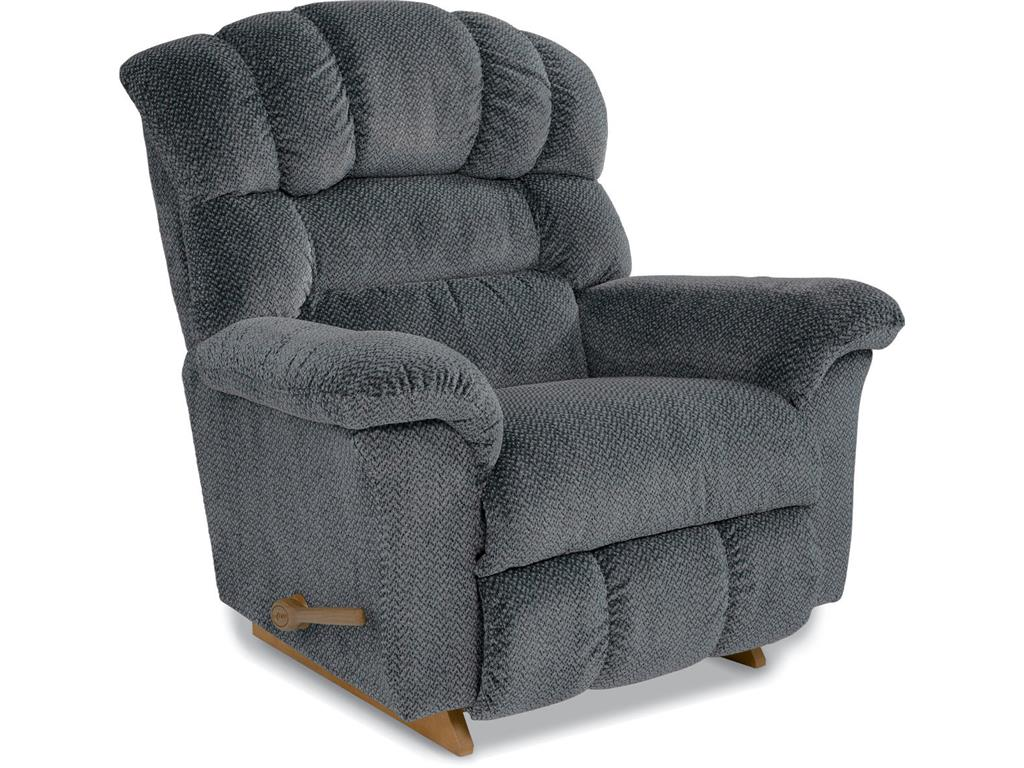 Crandell Rocker Recliner Grey