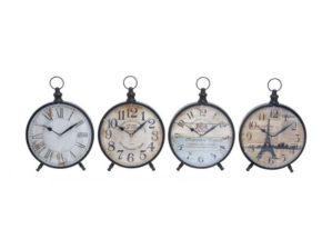 Uma Metal Desk Clock 12″H, 9″W 92203