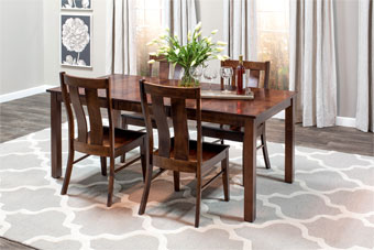 Sheffield Table & 4 Mitchell Chairs