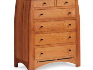 ASPEN 6-DRAWER CHEST/ Inlay