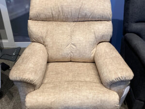 Reed Power Rocking Recliner w/ Head Rest and Lumbar with RW Wireless Remote