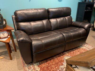 Roman Reclining 2-seat Sofa in Leather