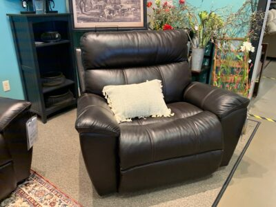 Roman Reclining Chair and A Half in Leather