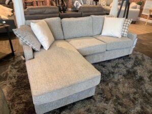 Coaster Sofa Chaise Charcoal